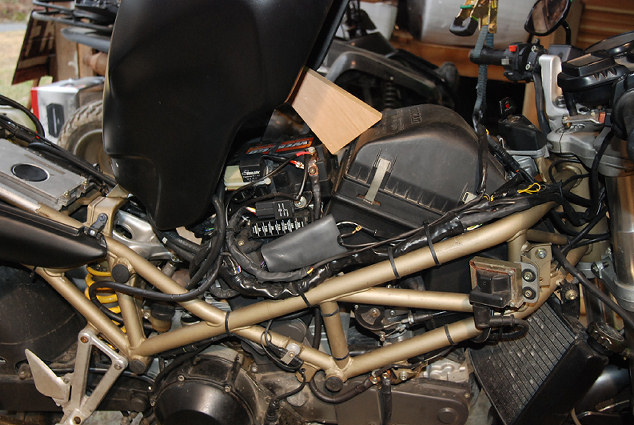 Ducati Monster  Battery Removal
