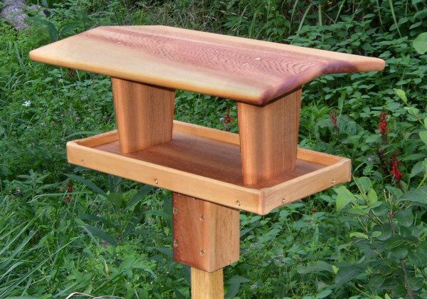 Diy plans extra large bird feeder plans pdf download fence for Homemade bird feeder plans