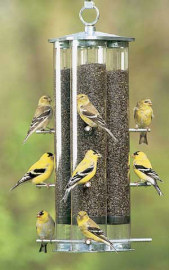 Duncraft Triple Tube Finch Feeder
