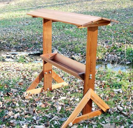 wood deer feeders 1